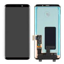 VITRE TACTILE ECRAN LCD ORIGINAL SUR CHASSIS SAMSUNG GALAXY S9 PLUS NOIR G965
