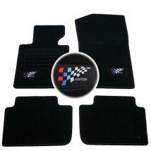 4 TAPIS SOL BMW SERIE 5 E34 1988-1995 525 td tds M5 MOQUETTE LOGO M SPECIFIQUE