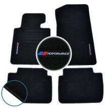 TAPIS SOL BMW SERIE 3 E46 330i 320d 325d MOQUETTE LOGO PERFORMANCE M SPECIFIQUE
