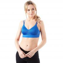 Womens Blue Nike Indy Breathe Sports Bra