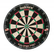 Mens Black Unicorn Eclipse Pro Bristle Dartboard
