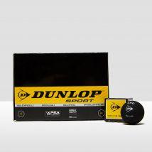 Mens Black Dunlop Revelation Pro Double Spot Squash Balls (3 Ball Can)