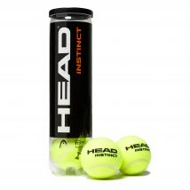 Mens Yellow Head Instinct Tennis Balls (4 Ball Can)