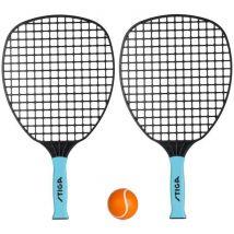 Stiga Set de tennis de plage All round Noir et bleu