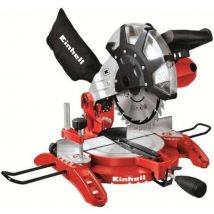 Einhell Scie à onglet radiale avec laser 250mm 1600W Th Ms 2513 L lame 48 dents