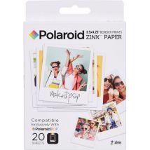 """Polaroid Polzl3x420 Papier photo 3""""x4"""" pour appareil photo Polaroid Pop"""