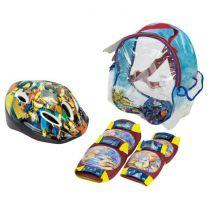 Gormiti Pack Set de Protections + Casque
