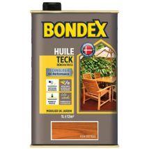 Bondex Huile de teck pour jardin Teck exotique mat 1 L