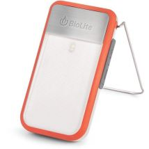 Biolite Powerlight Mini, Lampe torche universelle, Rouge, Ipx4, 135 lm, Lithium Ion (Li Ion), 52 h