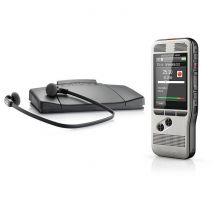Philips Dpm6700 Kit de dictée et de transcription numérique Pocket Memo Sans mémoire interne Usb
