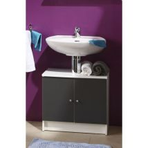 Slash Meuble sous lavabo L 59 cm Gris anthracite