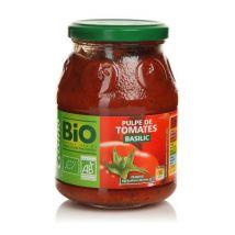 Casino Pulpe de tomate basilic Bio 400g