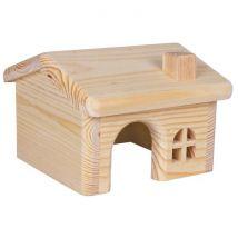 Trixie Maisonnette en bois pour hamsters/souris 15 × 11 × 15 cm