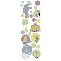 Plage Sticker déco Cirque1 Planche 24x68cm
