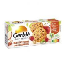 Gerble Biscuit moelleux à la pomme et à la framboise 138 g