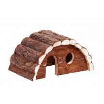 Bubimex Maison en bois pont Pour rongeurs