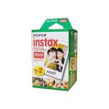 Bi Pack 20 Films Fujifilm Instax Mini couleur à développement instantané instax mini Iso 800