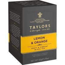 Taylors Thé au Citron et à L'orange 20 sachets 50 g