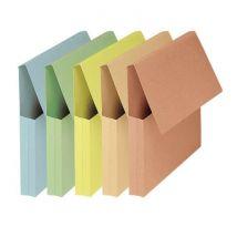 Fast 50 Pochettes Vip 24x32 Kraft Couleurs pastel assorties