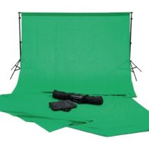 Konig Kn Studio60 Kit Toile Backdrop Studio 200 cm Vert