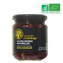 Olives noires naturelles Bio 130 g