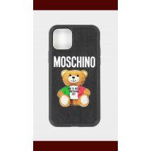Moschino Italian Teddy Iphone 11 Pro Case - Black - Womens, Black