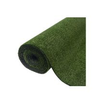 Vidaxl Gazon artificiel 1 x 15 m / 7-9 mm vert Article de décoration