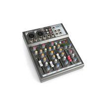 Vonyx Vmm-k402 table de mixage dj de studio 4 canaux avec entrée usb /