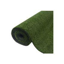 Vidaxl Gazon artificiel 1x20 m / 7-9 mm vert Article de décoration
