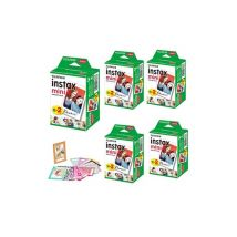 Fujifilm Fujifilm - instax mini film-100 photos+100 autocollant Papier