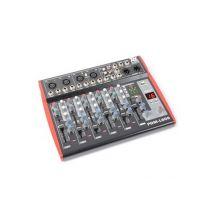 Power Dynamics PDM-L605 Table de mixage 6 canaux port USB AUX MIC +48V