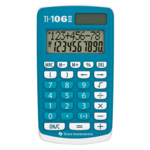 Texas Instruments TI-106 II Calculatrice 4 opérations