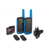 Motorola TALKIE MOTOROLA T62 BLEU PACK 2 Talkie Walkie