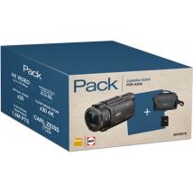 Sony PACK FDR-AX53 4K + FOURRE-TOUT + SD 16GO Caméscope numérique