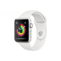 Apple Apple Watch Série 3 GPS 42mm Boîtier en aluminium argent avec Br