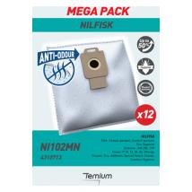 Temium NI102MN ANTI-ODEUR Sac aspirateur