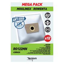 Temium RO122MN ANTI-ODEUR 12 SACS Sac aspirateur