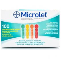 Microlet Coloured Lancets 0.5mm/28g