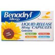 Benadryl Allergy Liquid Release 10mg x6