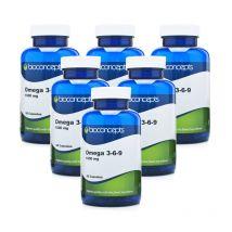 Bioconcepts Omega 3-6-9 1000mg Soft Gels 360s