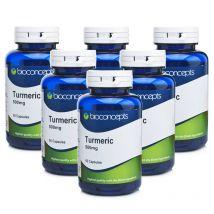 Bioconcepts Turmeric 500mg - 360 Capsules