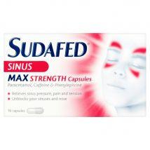 Sudafed Sinus Max Strength Capsules 16s