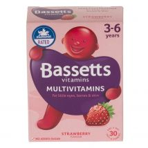 Bassetts Chewy Multivitamins For 3-6 Years - Strawberry Flavour