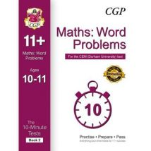 10-Minute Tests for 11+ Maths: Word Problems Ages 10-11 (Book 2) - CEM Test