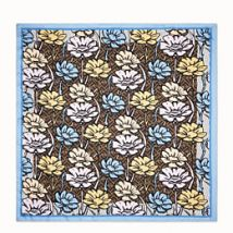 Fendi Flowers Foulard, Multicolour