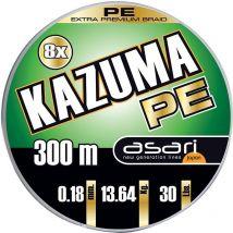 Braid Asari Kazuma 8x Pe - 300m Lak830012