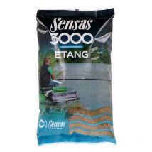 Cebo Sensas 3000 Etang 3000 Estanque Amarilla - 1 Kg