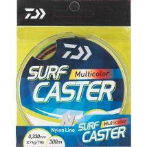 Monofilo Daiwa Surfcaster 4 Color - 300m Sfc4c30018