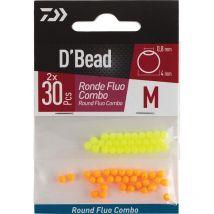 Perle Daiwa D'bead Round Fluo 4mm