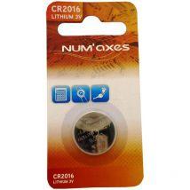 Pile Alcaline Numaxes 3v Cr2016 1 Pile Cr2016 Litio 3 V